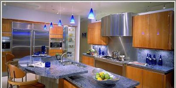 home renovation kitchen design for kitchen remodeling with marble counter top and custom cabinets.