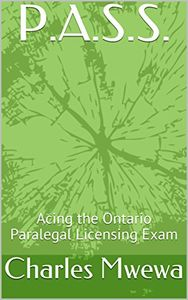 Perhaps one of its kind, this book will prepare you to take and ace the Law Society of Ontario admin