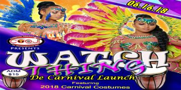 2018 WATCH THING - Jacksonville Carnival Launch. Showcasing carnival parade costumes.