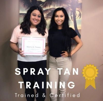Spray tan classes to start your own business!