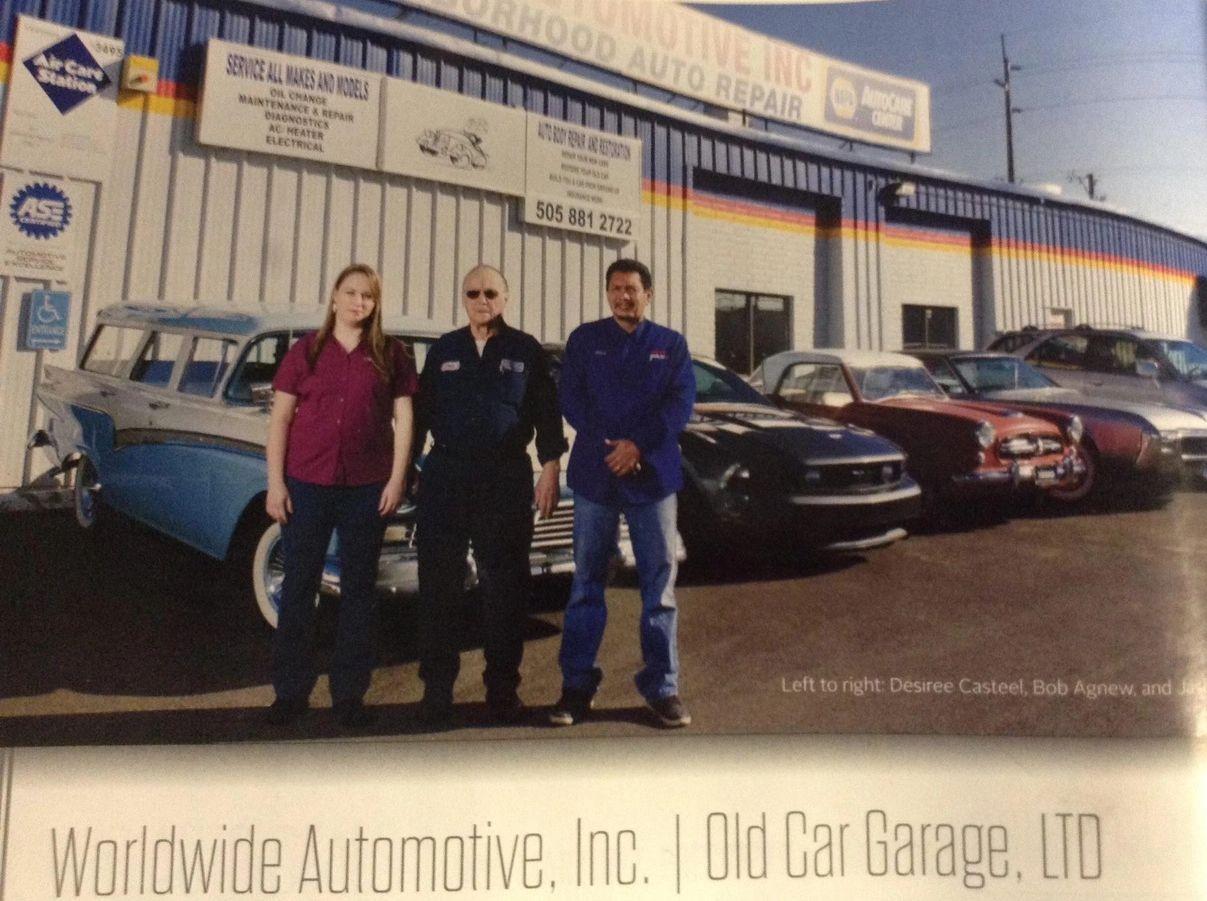 Old Car Garage Ltd - Classic car garage