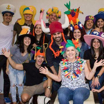 Foam Party Hats - Foam Hats, Foam Hats, Party Supplies, Foam Wigs