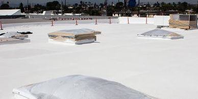 Polyurethane Foam Roofing, central valley ca, Atwater ca