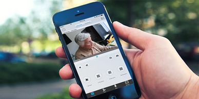 security systems for the elderly monitor home security for the elderly