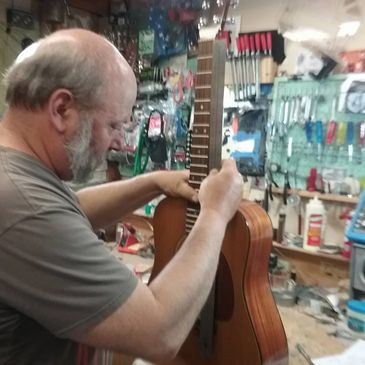 Call to drop off or schedule a Luthier Examination Appointment.  Free Quotes