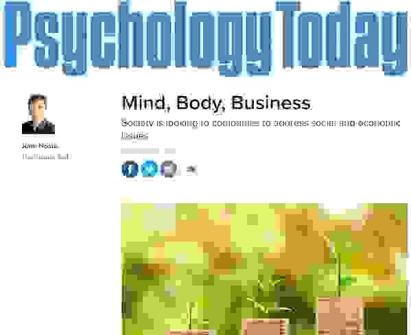Michael J. Gelb PSYCHOLOGY TODAY Mind, Body & Business