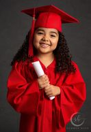 kindergarten cap and gown picture, promotion picture,Corona photographer, preschool promotion pictur