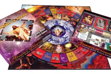 Treasure in Heaven Family Bible Board Game