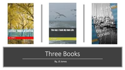 Three Books I Have Written. You'll love! Available on Amazon. Fantastic for readers and writers.