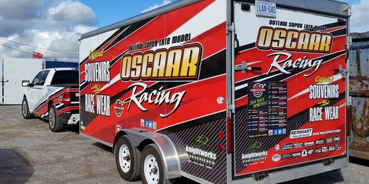 Trailer wrap. Vehicle wrap.