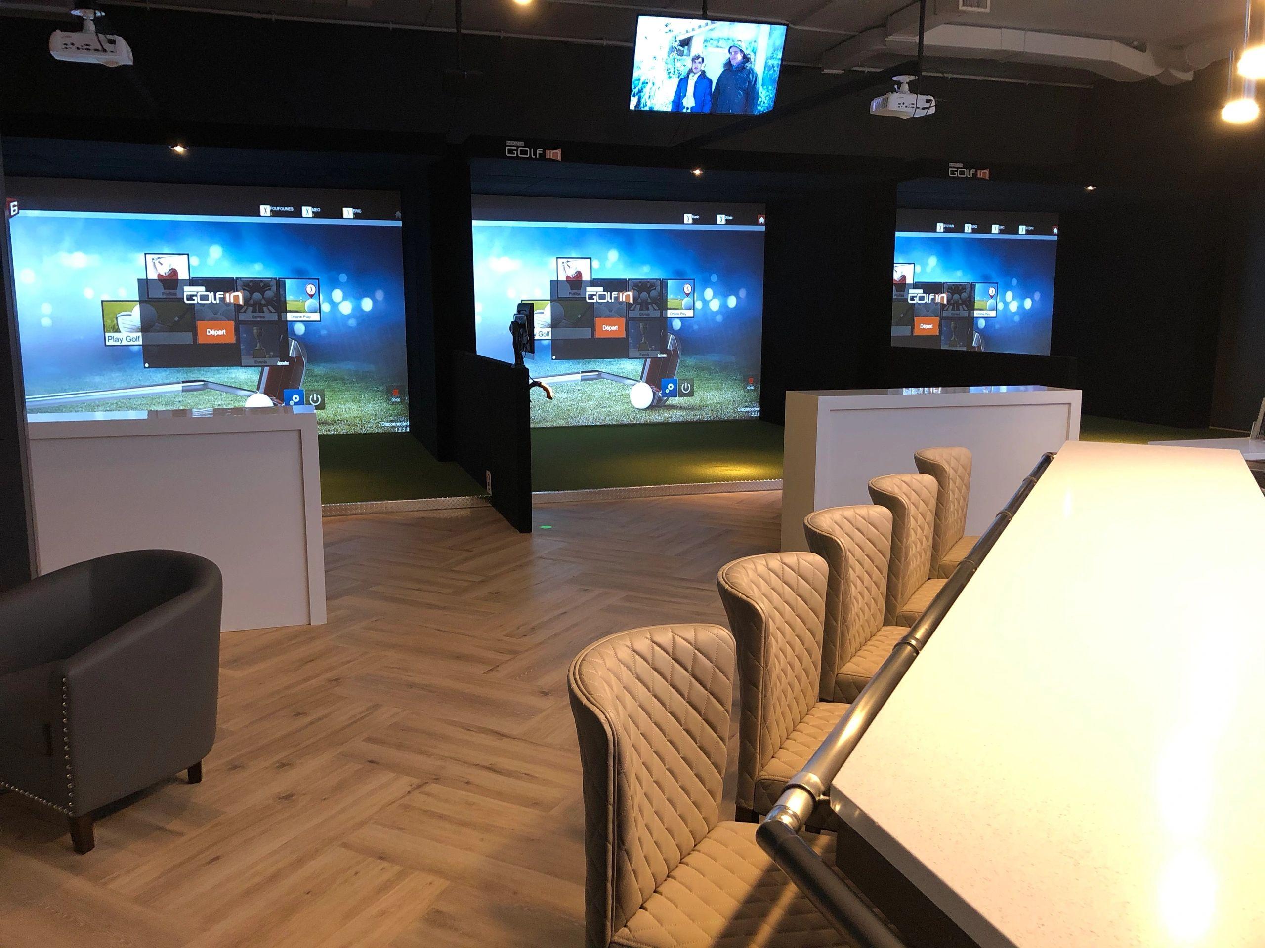 Zone Golf In Sherbrooke : simulateur de golf intérieur à Sherbrooke