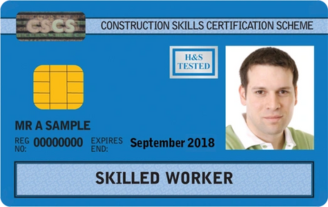 CSCS Skilled Worker Card level 2 nvq cscs blue card cscs card cscs plumber cscs groundworker