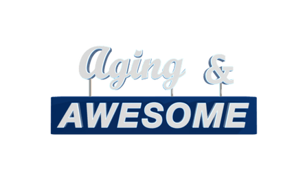 Aging and Awesome (insert logo)