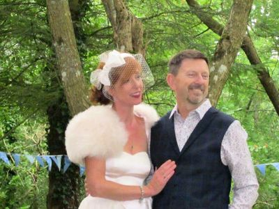 Our woodland wedding at WaenYCoed in Mid Wales
