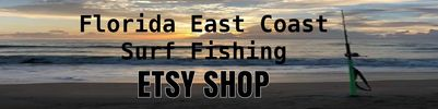 Florida East Coast Surf Fishing ETSY SHOP Pompano Rigs Double Drop Saltwater Fishing Rigs
