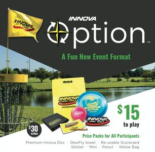 Sign up and register for our InnovaOption Tournament. Saturday July 18, 2020.