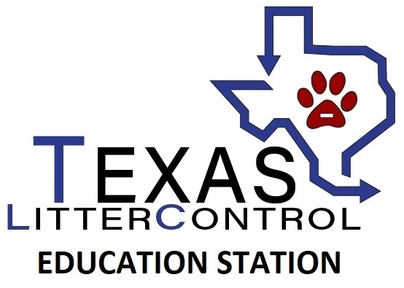 Texas Litter Control Education Station