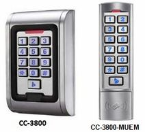 Cobra Controls CC-3800 Proximity Reader and Keypad