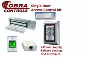 Cobra Controls Single Door non-computerized Access Control kit