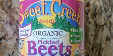 Sweet Creek Organic Pickled Beets