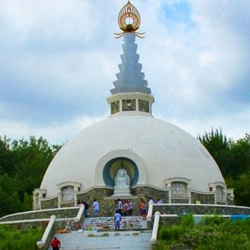 The Grafton Peace Pagoda is located in upstate New York.