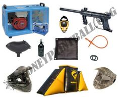 Turn Key Paintball Package