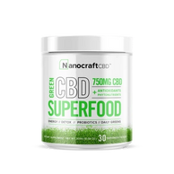 Nanocraft CBD superfood-most potent, nutrient-dense, immune-supporting powdered drinks available.
