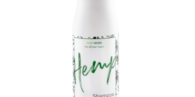 HempWorx Shampoo for all hair types contains organic hemp seed oil o help strengthen and hydrate.