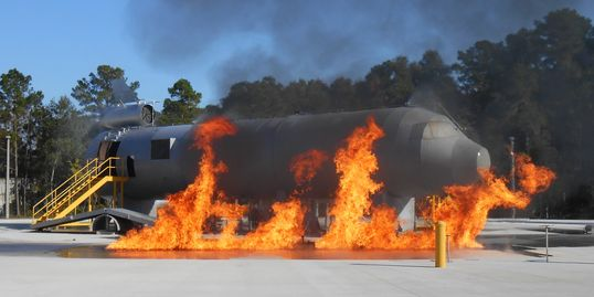 Aircraft Rescue and Firefighting Simulator, FSCJ, Jacksonville, FL