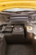 Front trunk space of Porsche 911 Turbo