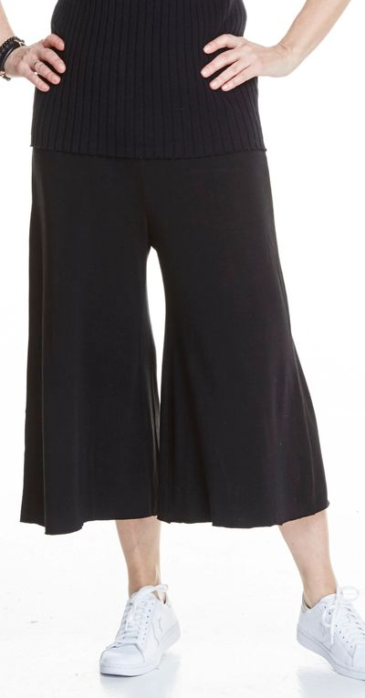 Pull On Culotte Bamboo Spring Summer Kelley Derrett Collection Women's Clothing [Shop Details]