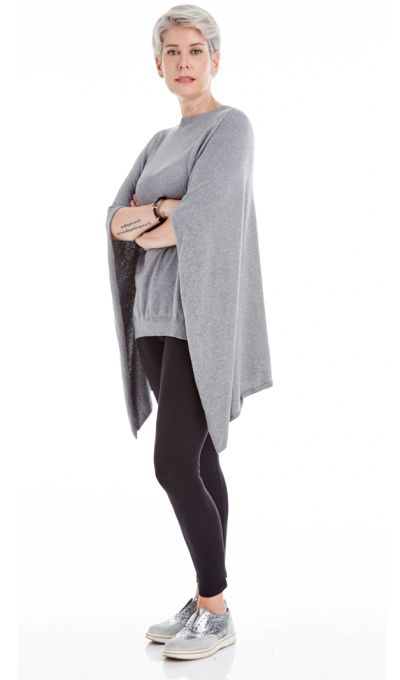 Cashmere Caplet PO Sweater FW18 Kelley Derrett Collection Women's Clothing [Shop Details]