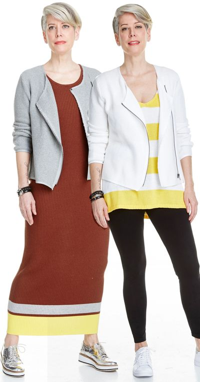 Moto Cardigan Sweater Spring Summer  Kelley Derrett Collection Women's Clothing [Shop Details]