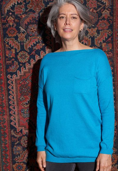 Cashmere LS Tunic W/Pockets FW Kelley Derrett Collection Women's Clothing [Shop Details]
