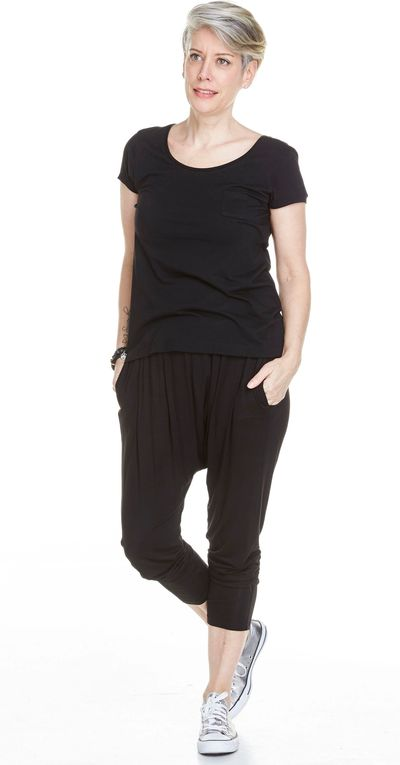 Bamboo One Pocket Tee Spr/Sum Kelley Derrett Collection Women's Clothing [Shop Details]