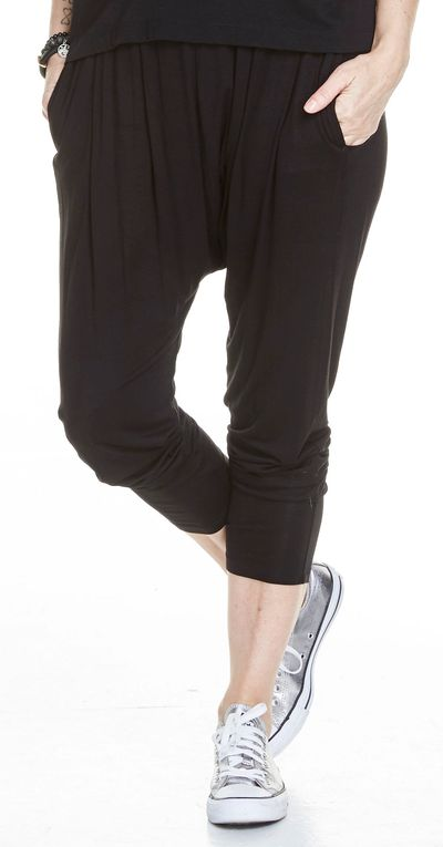 New Harem Pant Bamboo Jersey Spring Summer Kelley Derrett Collection Women's Clothing [Shop Details]