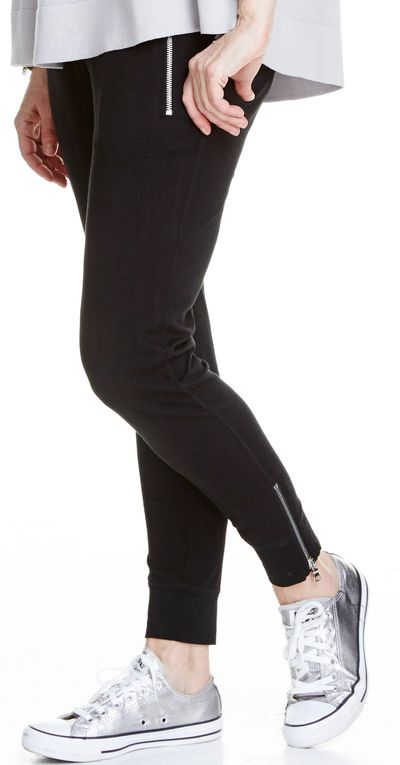 Zip Jogger Pant Bamboo Spring Summer Kelley Derrett Collection Women's Clothing [Shop Details]