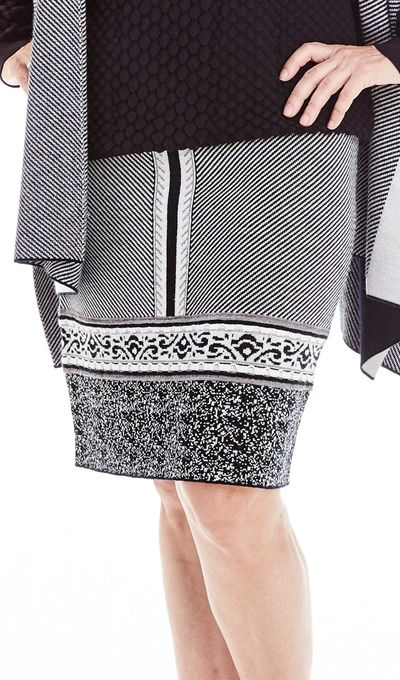 Patchwork Skirt FW18 Kelley Derrett Collection Women's Clothing [Shop Details