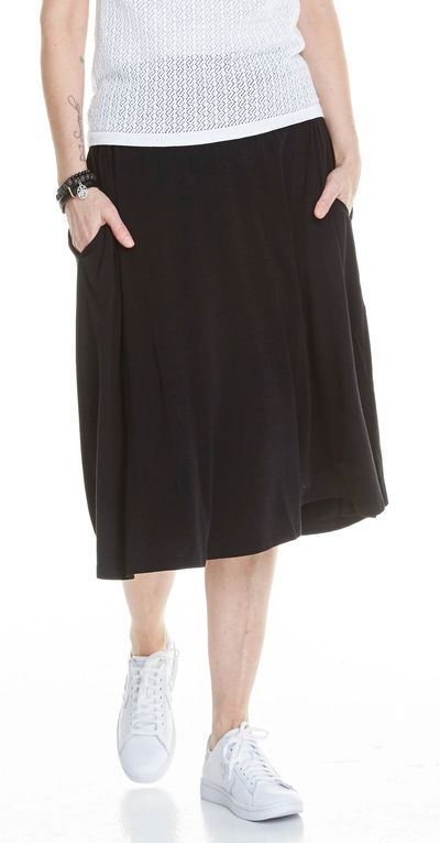 Midi Length Tea Skirt Bamboo Spring Summer Kelley Derrett Collection Women's Clothing [Shop Details]