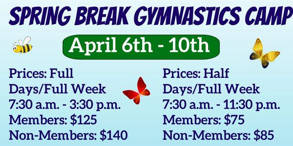 Tailered for gymnasts of all levels, C.A.T.S. Spring Break Camp is a well-rounded program for boys a