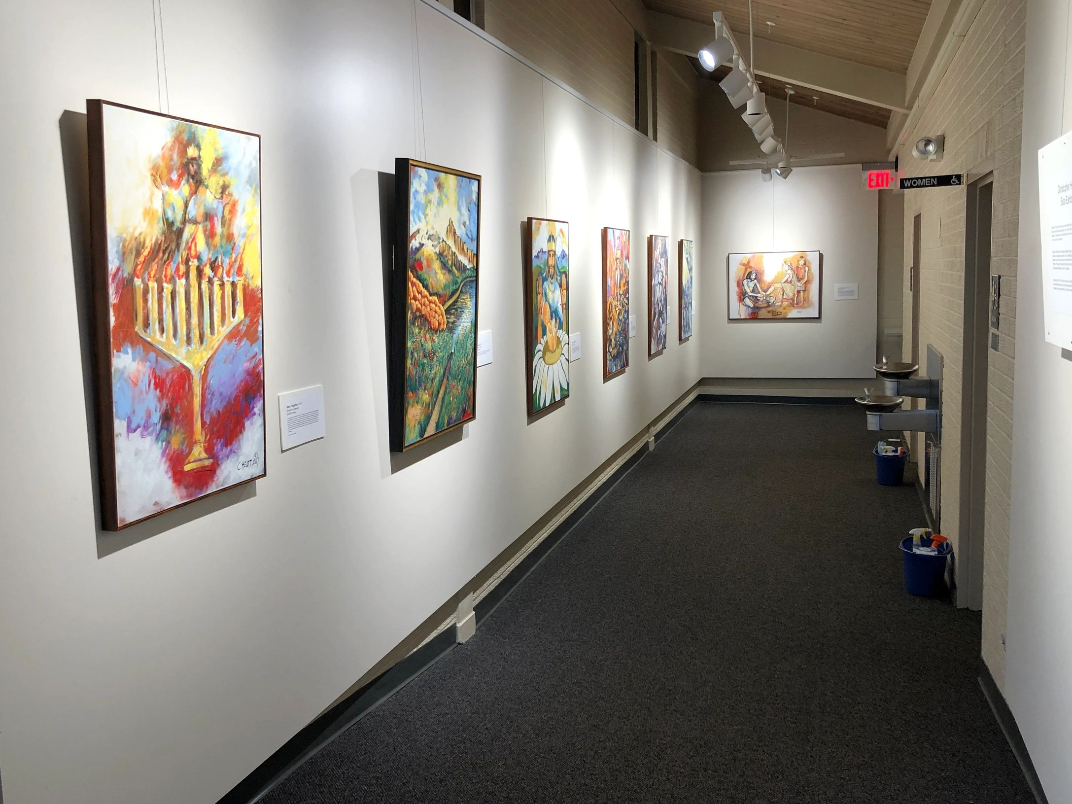 I have a small solo show going on at The Virginia Beach Community Chapel. It runs until November 3,