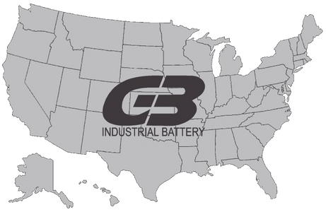 Lift truck batteries, 18-85-17 battery, 18-85-21 battery, 18-85-23 battery.