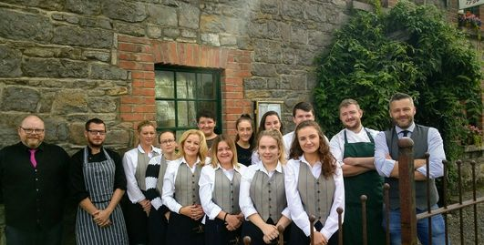 The Team of the Cross Guns Gastropub and Venue
