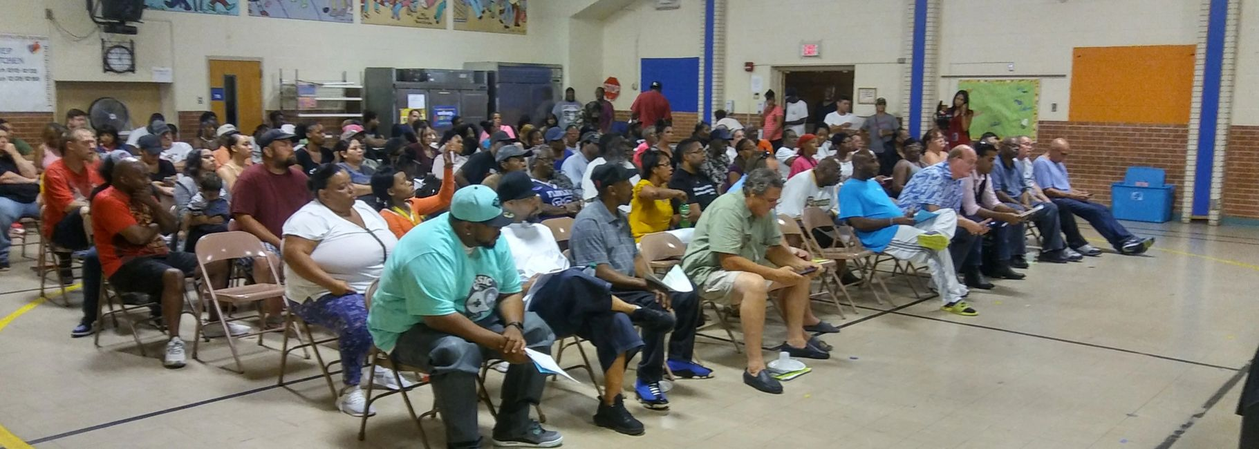 Over 300 people came on August 24th, 2019 to learn how to get their driver's license reinstated.