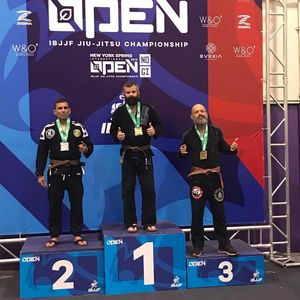 ibjjf new York spring open 2019 first place gold medal brown belt