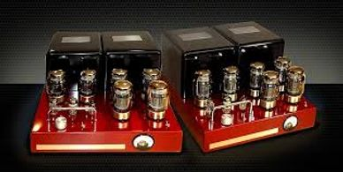 bob carver crimson red monobloc amplifier