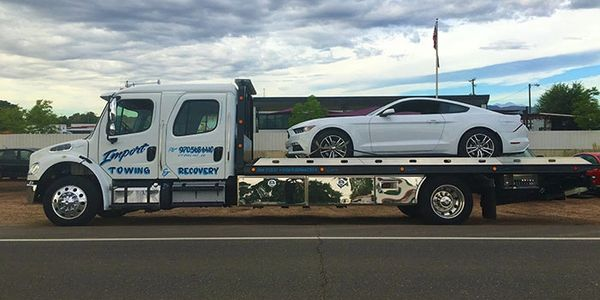Emergency towing, Import Towing