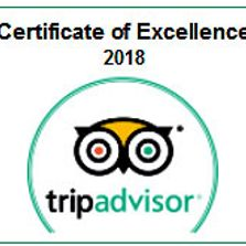 2018 Certificate of Excellence 4 years in a row