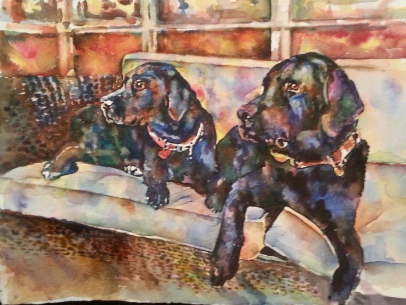 e66b0feb5087 5 Great Reasons to Order a Watercolor Pet Portrait