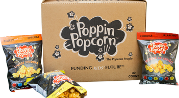 Cheesy Cheddar, Jalapeno Popcorn, Gourmet popcorn for fundraising